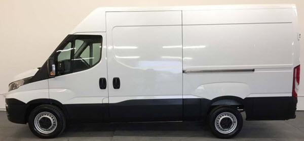 3.5 Tonne Van - need category B licence to drive it