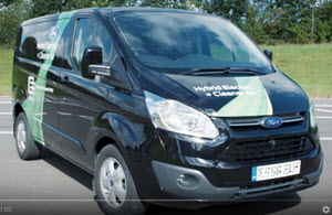 Ford Transit plug-in Hybrid Electric Van
